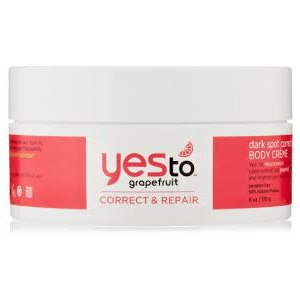 Grapefruit Dark Spot Correcting Body Creme by Yes To