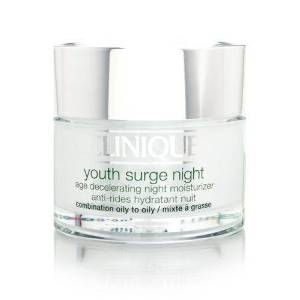 Youth Surge Night Age Decelerating Night Moisturizer, Combination Oily to Oily by Clinique