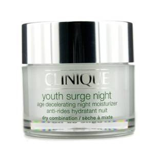 Youth Surge Night Age Decelerating Night Moisturizer, Dry Combination by Clinique