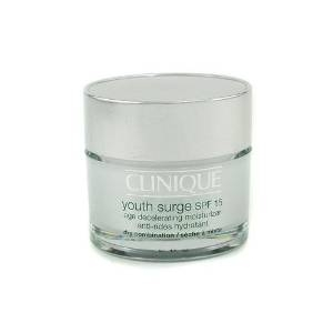 Youth Surge SPF 15 Age Decelerating Moisturizer, Dry Combination by Clinique