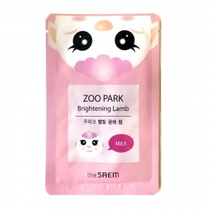 Zoo Park Brightening Lamb Sheet Mask by The Saem