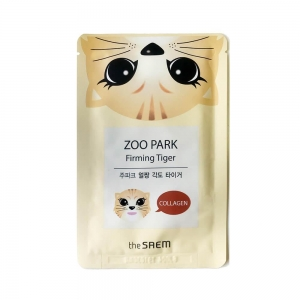 Zoo Park Firming Tiger Sheet Mask by The Saem