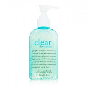 Clear Days Ahead Oil-Free Salicylic Acid Acne Treatment Cleanser by philosophy