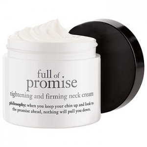 Full Of Promise Tightening And Firming Neck Cream by philosophy