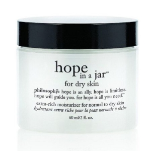 Hope In A Jar, Extra-Rich Moisturizer For Normal To Dry Skin by philosophy