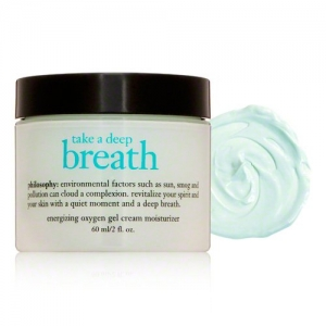 Take A Deep Breath Oil-Free Energizing Oxygen Gel Cream Moisturizer by philosophy